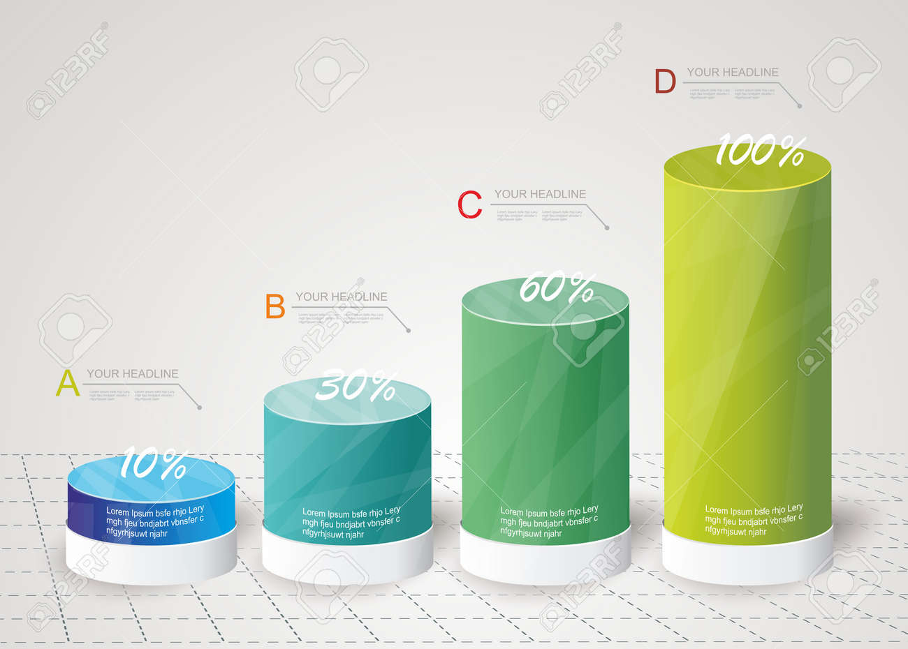 hight resolution of archivio fotografico box design moderno stile minimal template infografica pu essere utilizzato per diagramma numerati banner colonne per cento