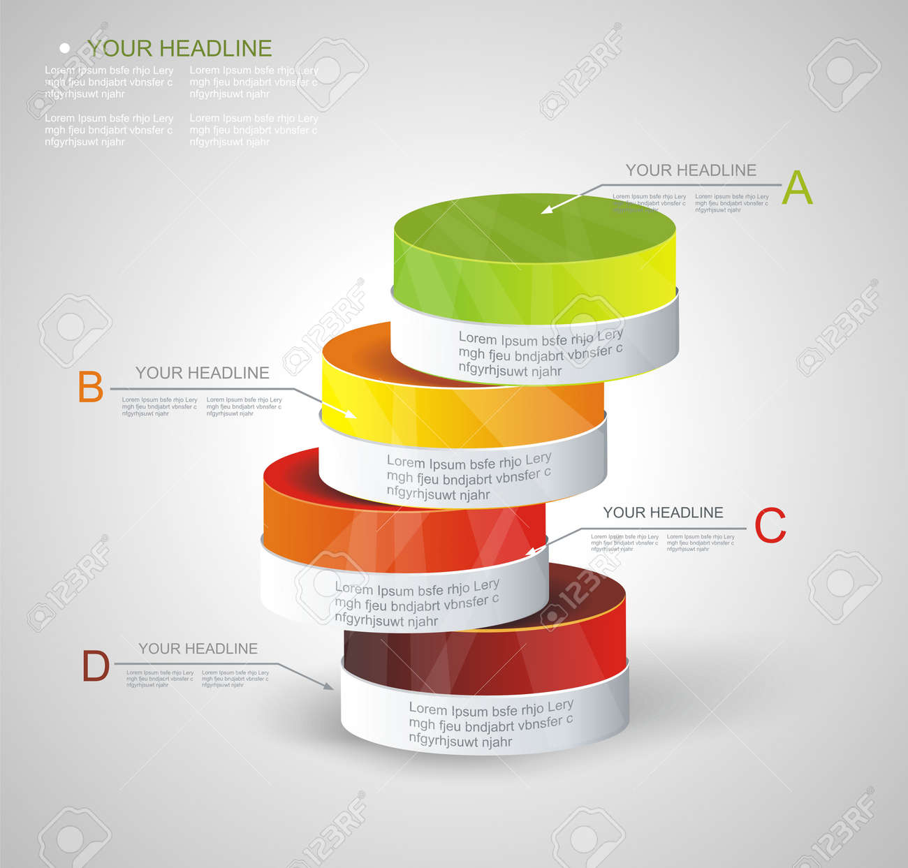 hight resolution of archivio fotografico box design moderno stile minimal template infografica pu essere usato per diagramma numerati banner colonne per cento