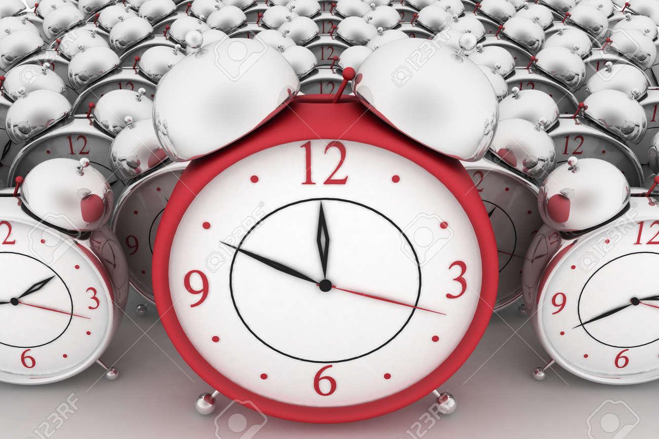 3d big red alarm