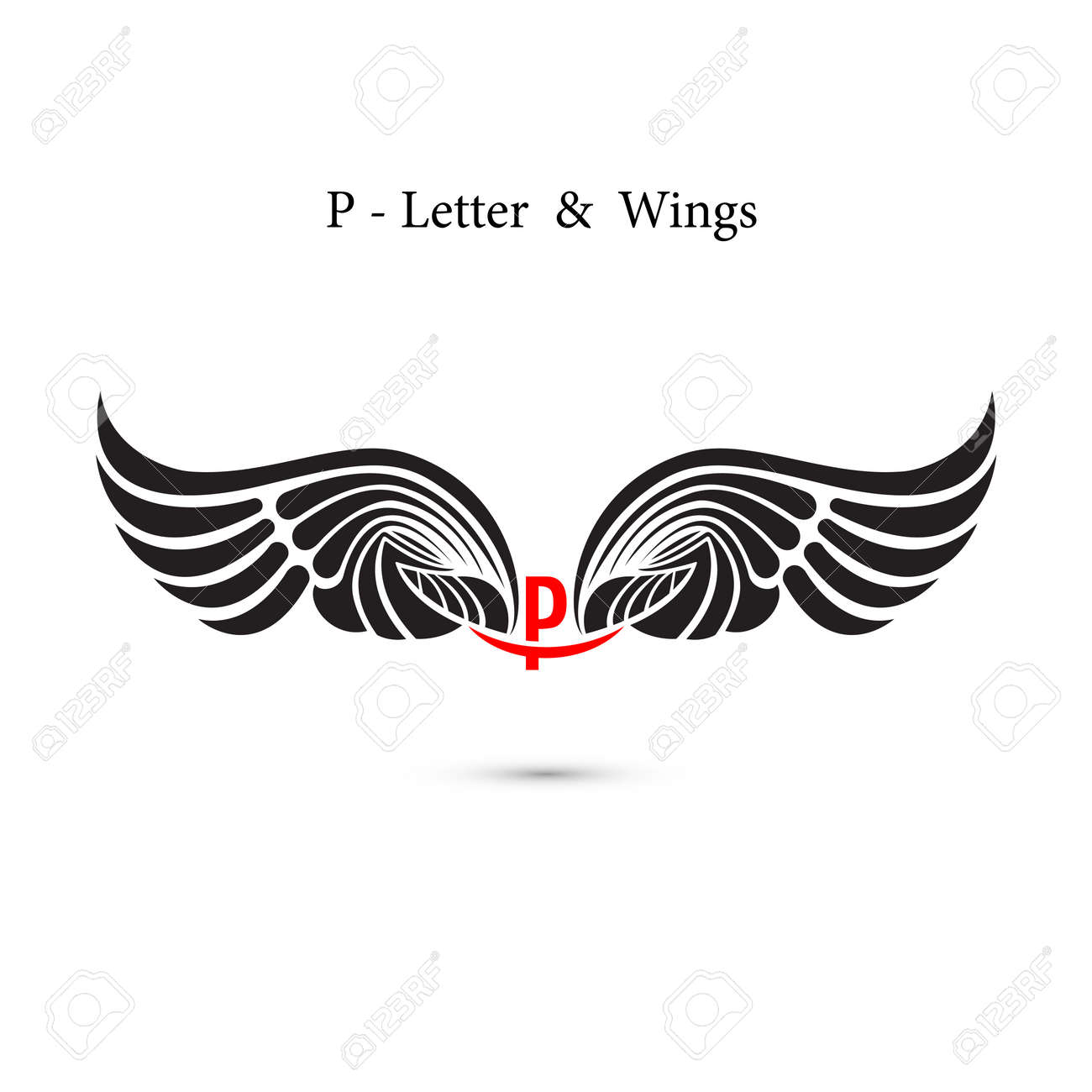 p letter sign and