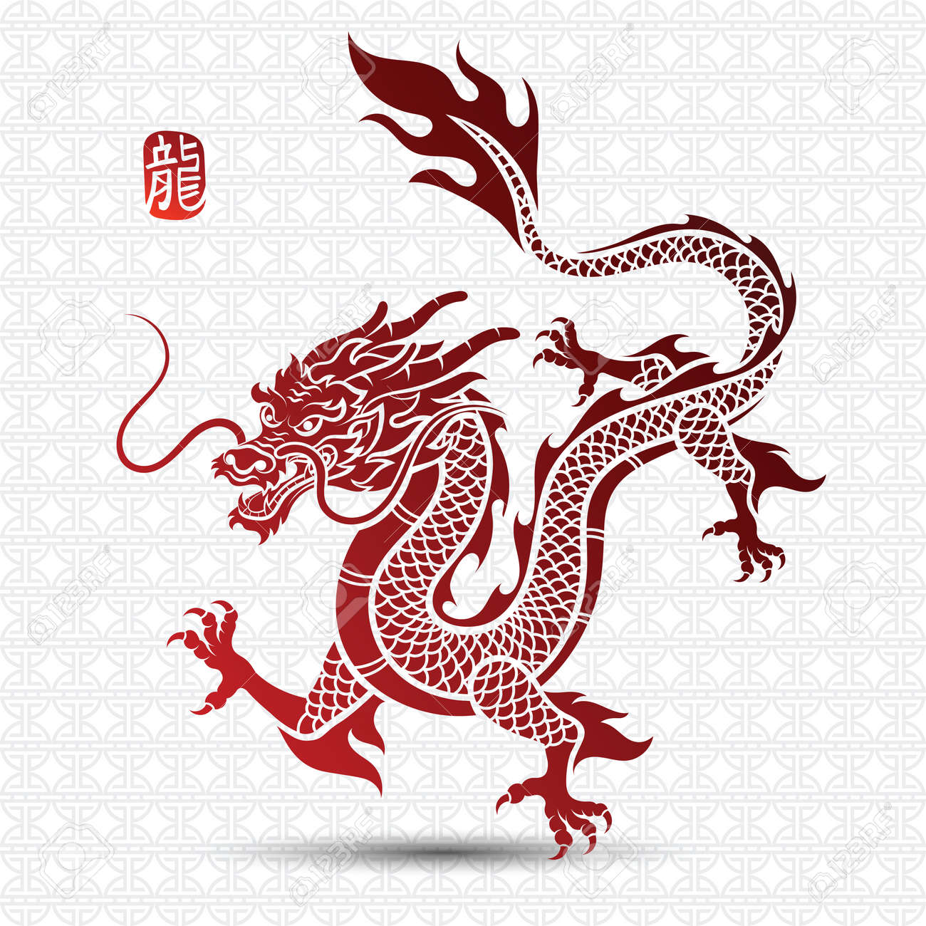 illustration of traditional chinese