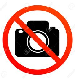 no photography sign stock vector 13895757 [ 1300 x 1300 Pixel ]