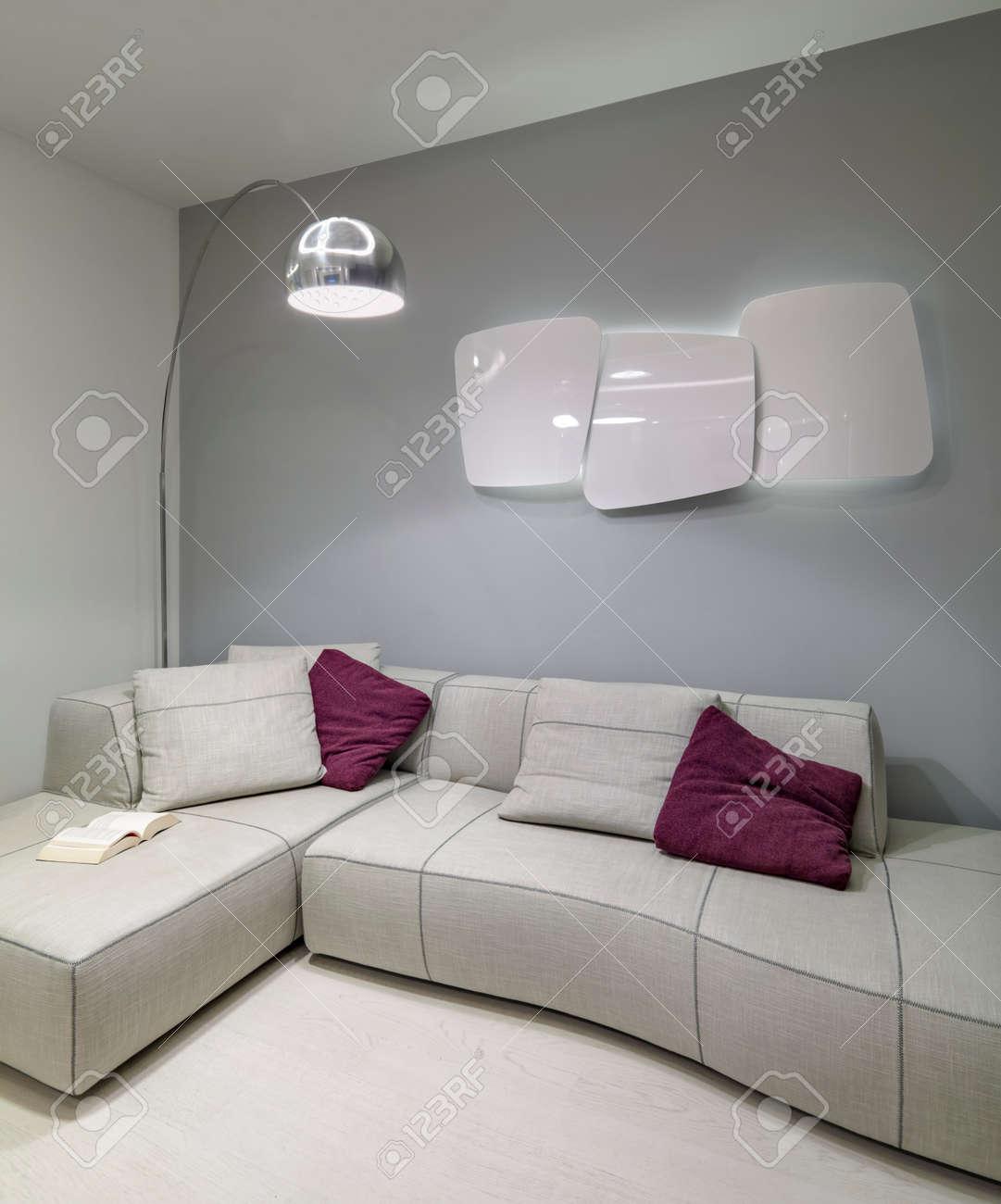 Salon Moderne Tissu