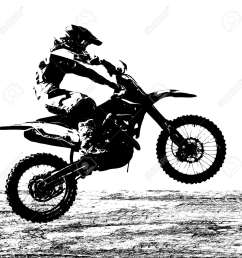 rider participates motocross championship vector illustration  [ 1300 x 1300 Pixel ]