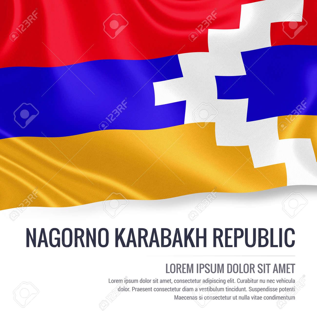 silky flag of nagorno