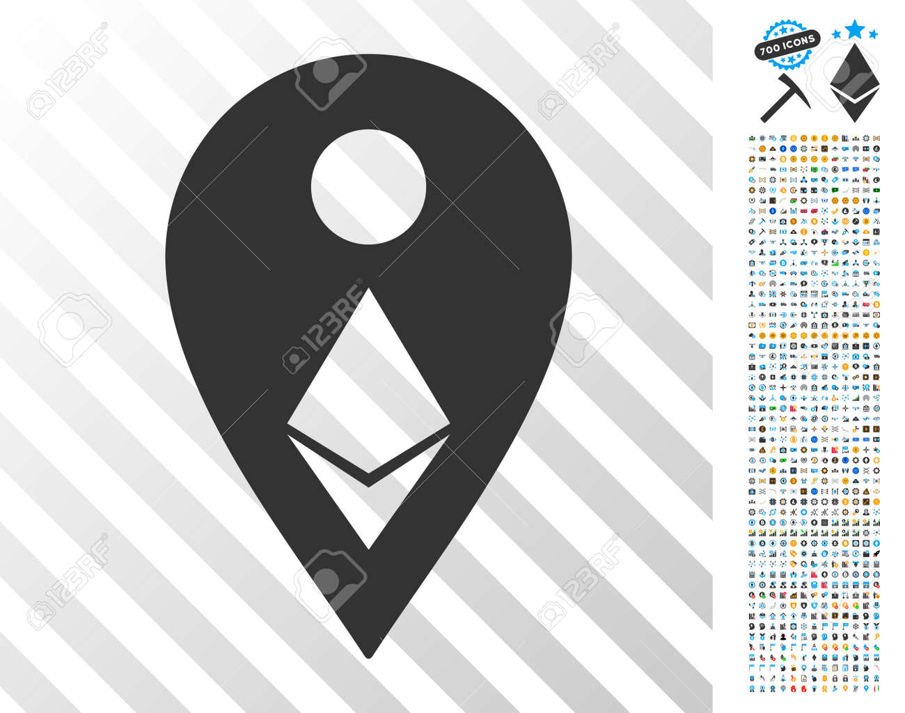 ethereum map marker icon