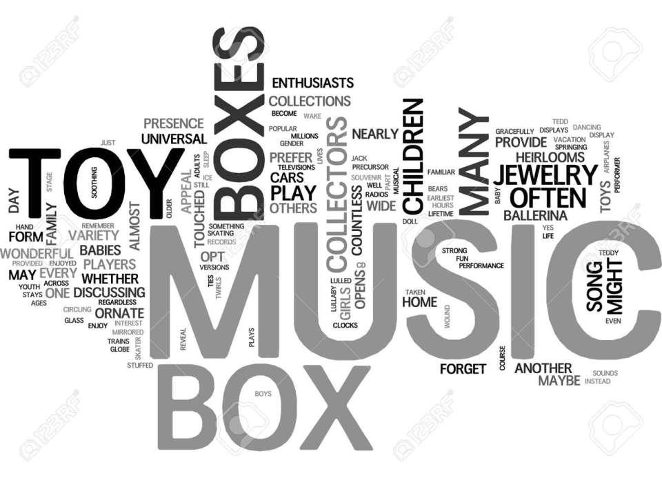 音楽のおもちゃ箱はテキスト word クラウドの概念は生活のためのおもちゃ