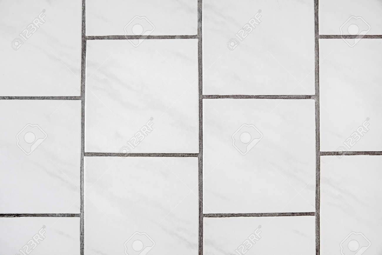 tiles floor background texture material white with joint