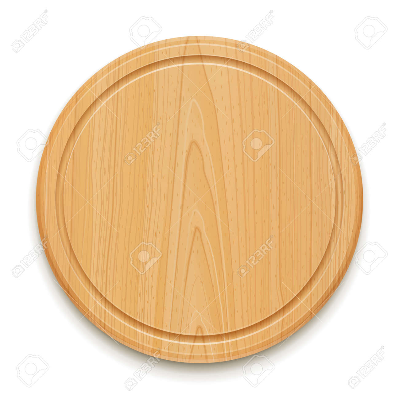 kitchen cutting board outside cabinets vector illustration isolated on white background stock 12328994