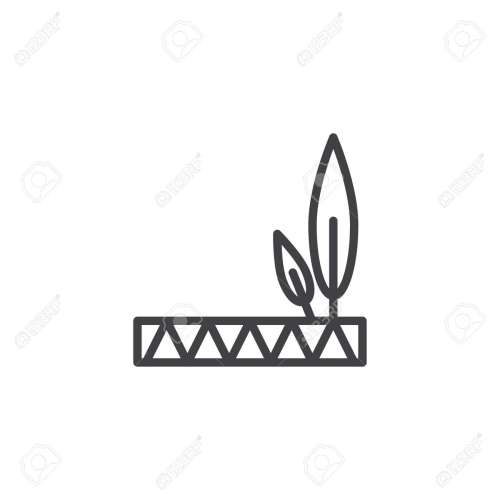 small resolution of native american feathered headdress outline icon linear style sign for mobile concept and web design