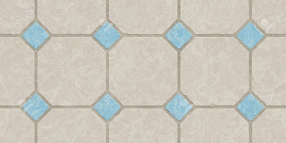 Beige Blue Seamless Classic Floor Tile Texture Simple Kitchen Stock Photo Picture And Royalty Free Image Image 100541459