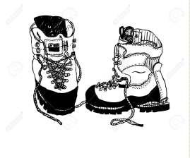 calzado para realizar trekking