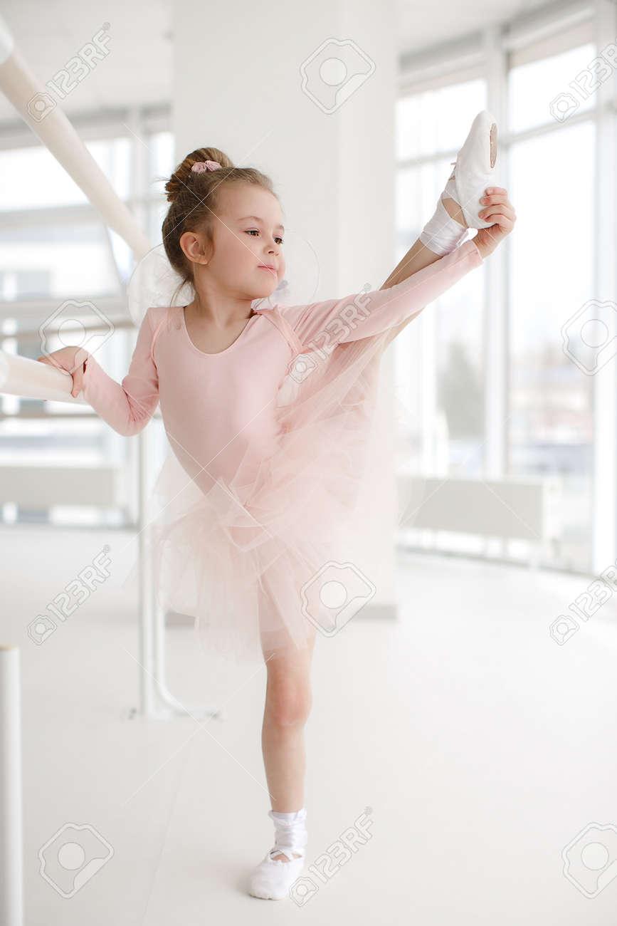little ballet girl in