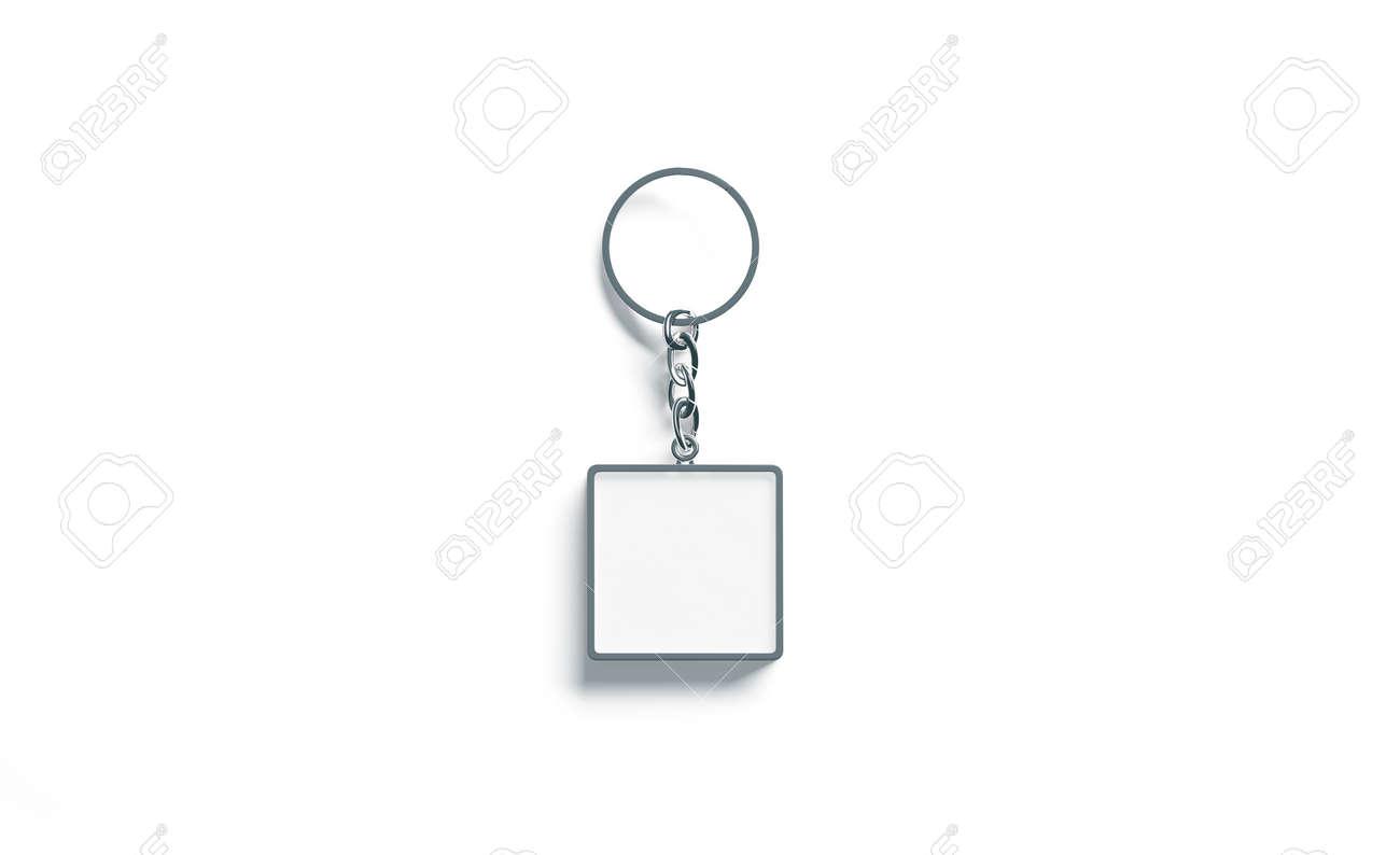 blank metal square white