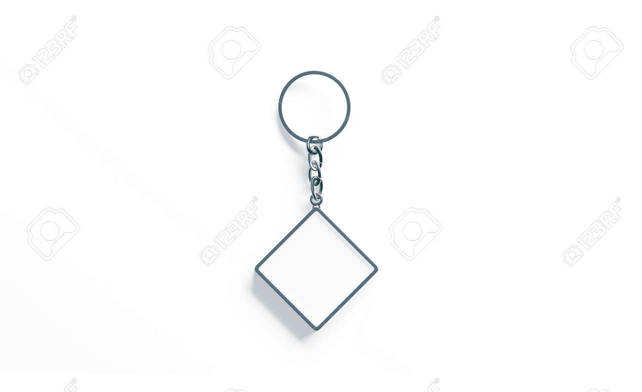 blank metal rhombus white