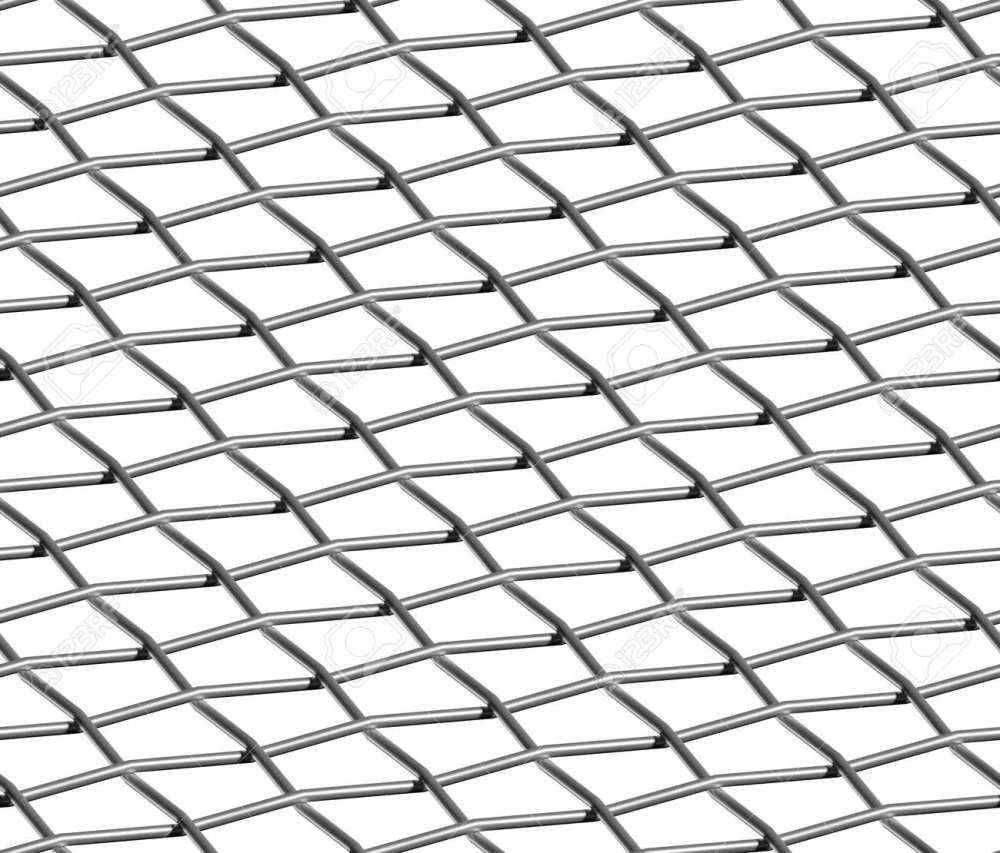 medium resolution of braided wire steel net on white industrial abstract textured seamless background stock photo 18376895