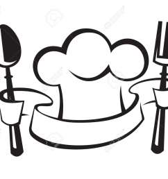 chef hat spoon and fork royalty free cliparts vectors and stock jpg 1300x1063 chef hat clipart [ 1300 x 1063 Pixel ]