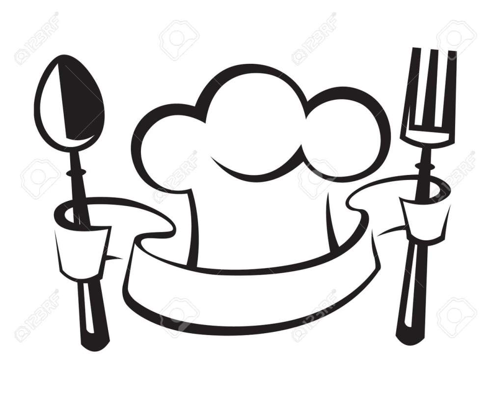 medium resolution of chef hat spoon and fork royalty free cliparts vectors and stock jpg 1300x1063 chef hat clipart