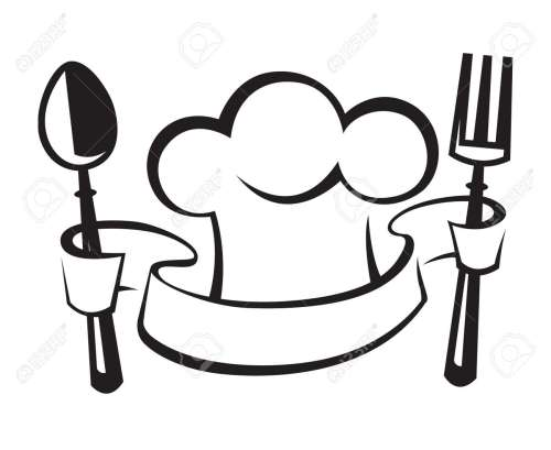 small resolution of chef hat spoon and fork royalty free cliparts vectors and stock jpg 1300x1063 chef hat clipart