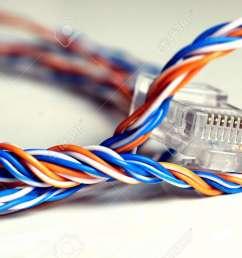 plug wire color lan stock photo 74526776 [ 1300 x 866 Pixel ]