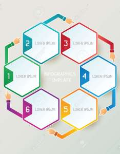 Abstract steps infographic template in  style for layout workflow scheme numbered options also rh rf