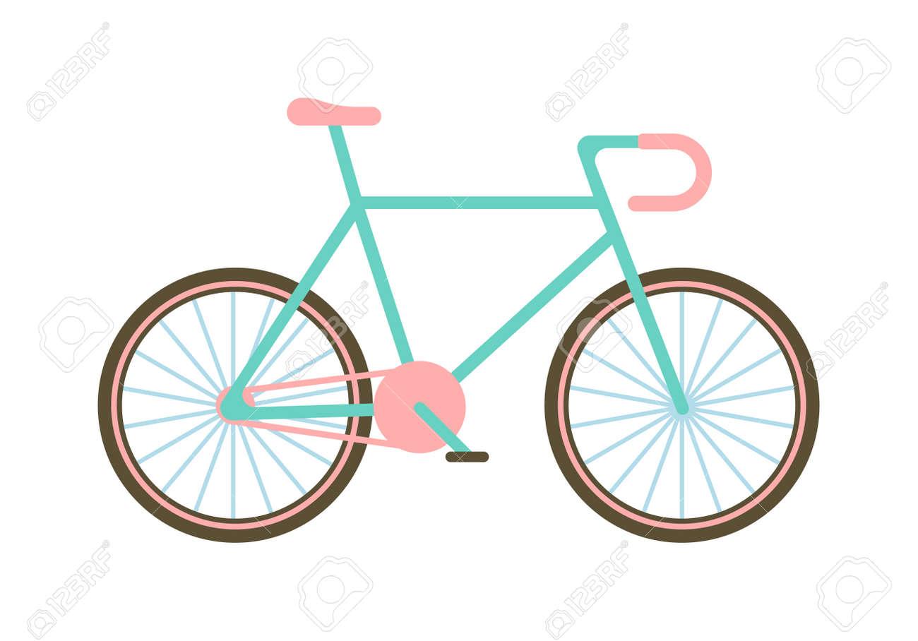 flat bike basket flowers