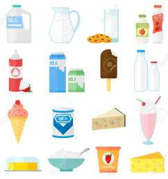 milk products collage collection dairy products on white background milk products healthy drink organic [ 1300 x 1300 Pixel ]