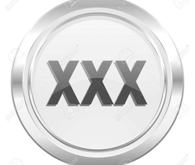 Stock Photo Xxx Metallic Icon Porn Sign