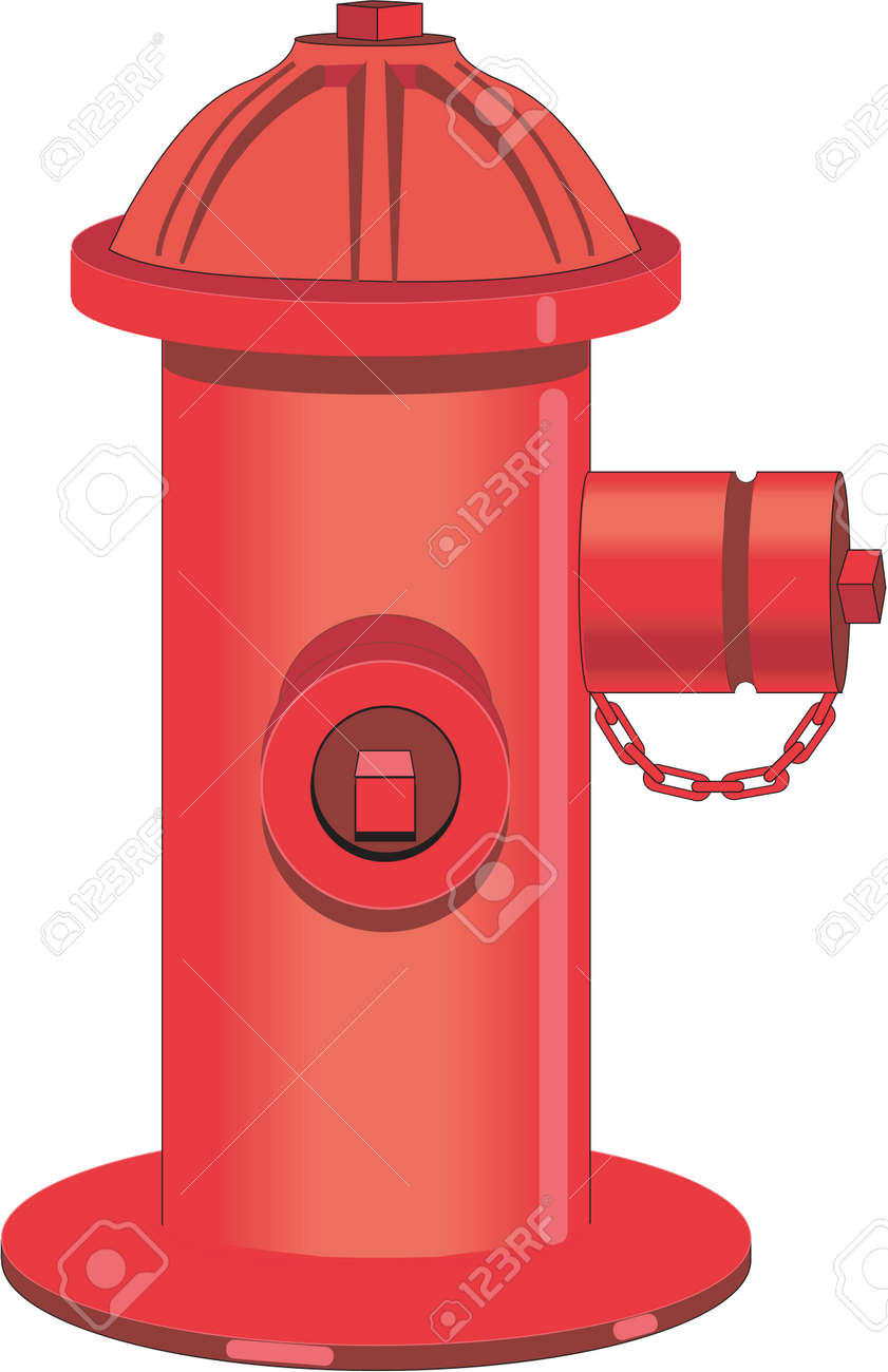 hight resolution of fire hydrant illustration stock vector 84057881