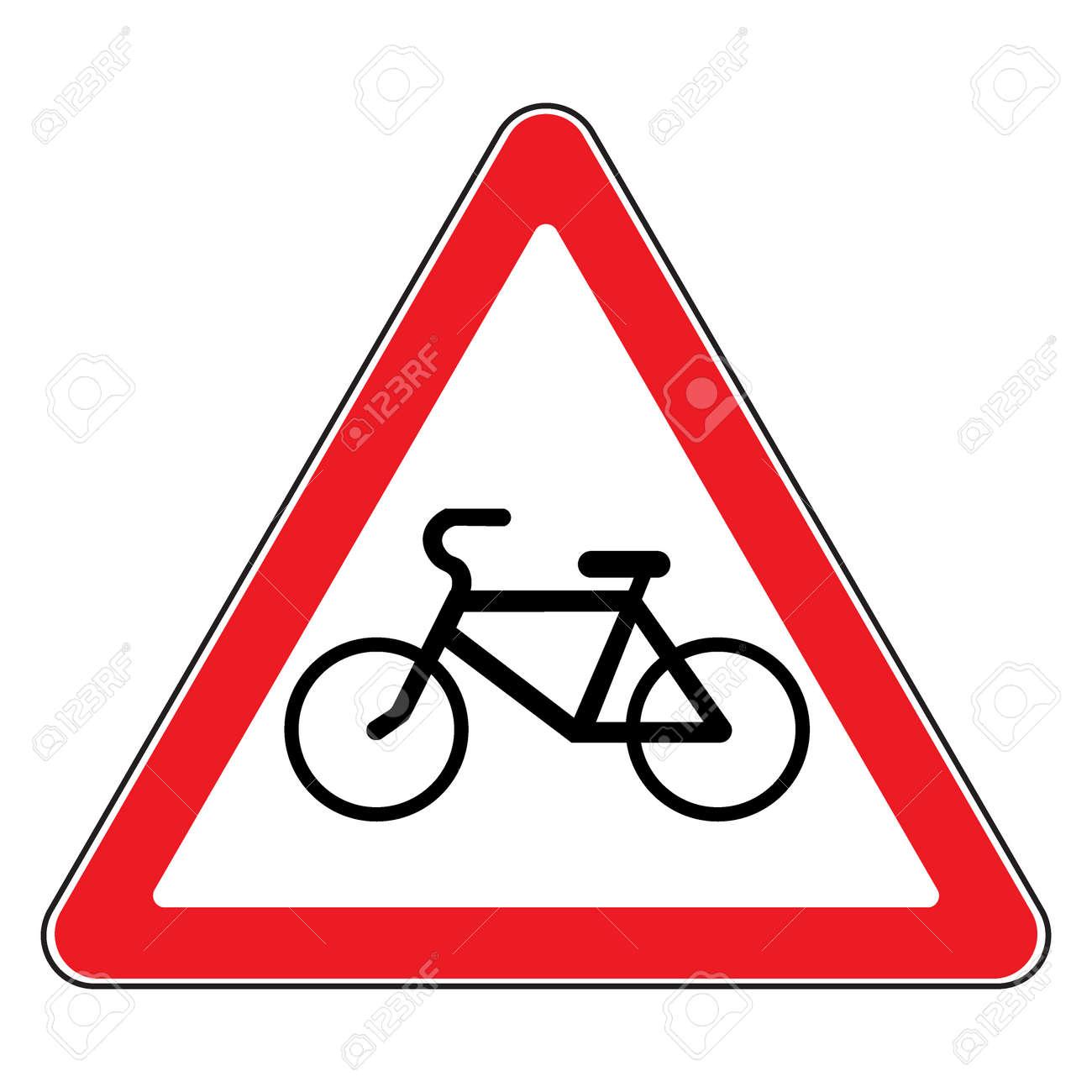 bicycle traffic sign warning