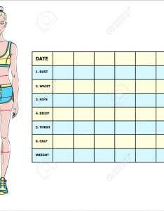 body weight loss measurement chart