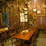 Interior Of Rustic Old Restaurant With Hunting D Cor Stock Photo Picture And Royalty Free Image Image 20713378