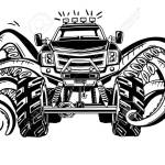 Vector Monster Truck With Tentacles Of The Mollusk Mystical Stock Photo Picture And Royalty Free Image Image 81514795