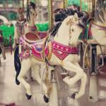 Vintage Carousel Horses Stock Photo Picture And Royalty Free Image Image 30761586