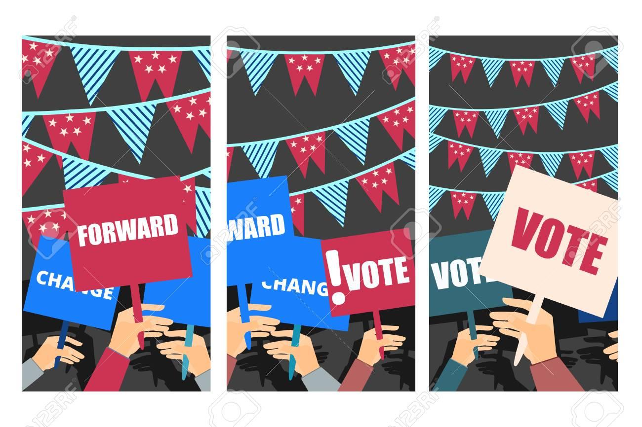 election campaign election vote