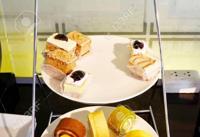 Buffet Fancy Cakes In Thailand Stock Photo Picture And Royalty Free