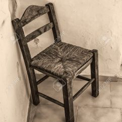 Old Wood Chairs Ultralight Backpacking Chair Wooden In Abandoned Room Stock Photo Picture And Royalty 64330838