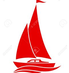sailboat vector icon on white background [ 918 x 1300 Pixel ]