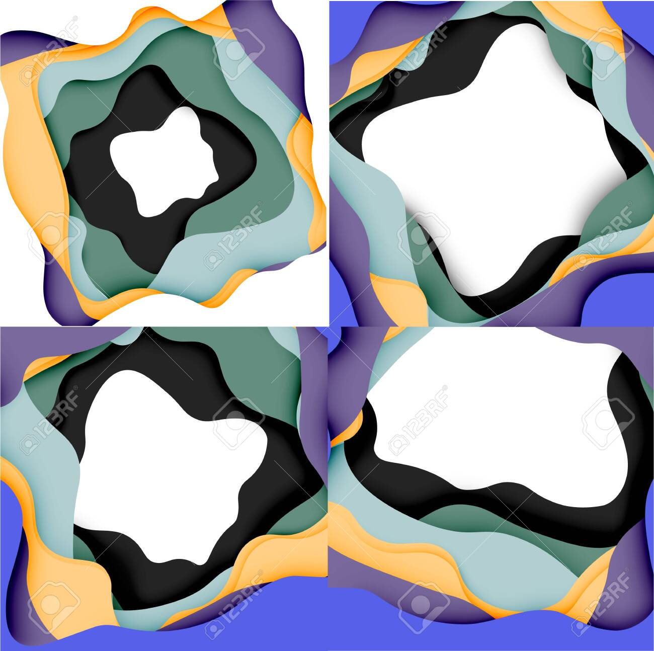 abstract geometric pattern 3d