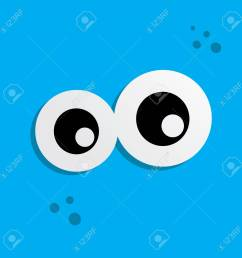 cute adorable ugly scary funny mascot monster eye vector art stock vector 77238631 [ 1300 x 1300 Pixel ]