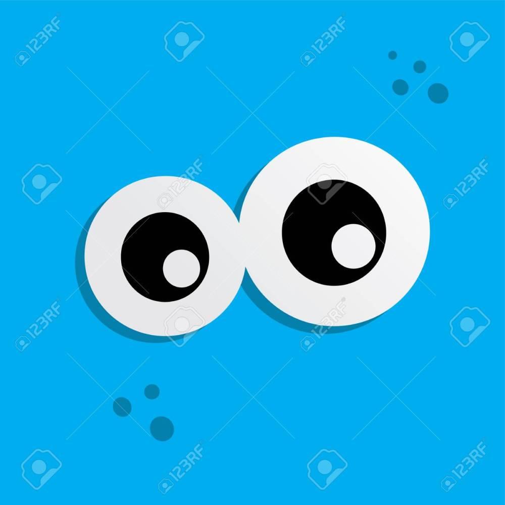 medium resolution of cute adorable ugly scary funny mascot monster eye vector art stock vector 77238631