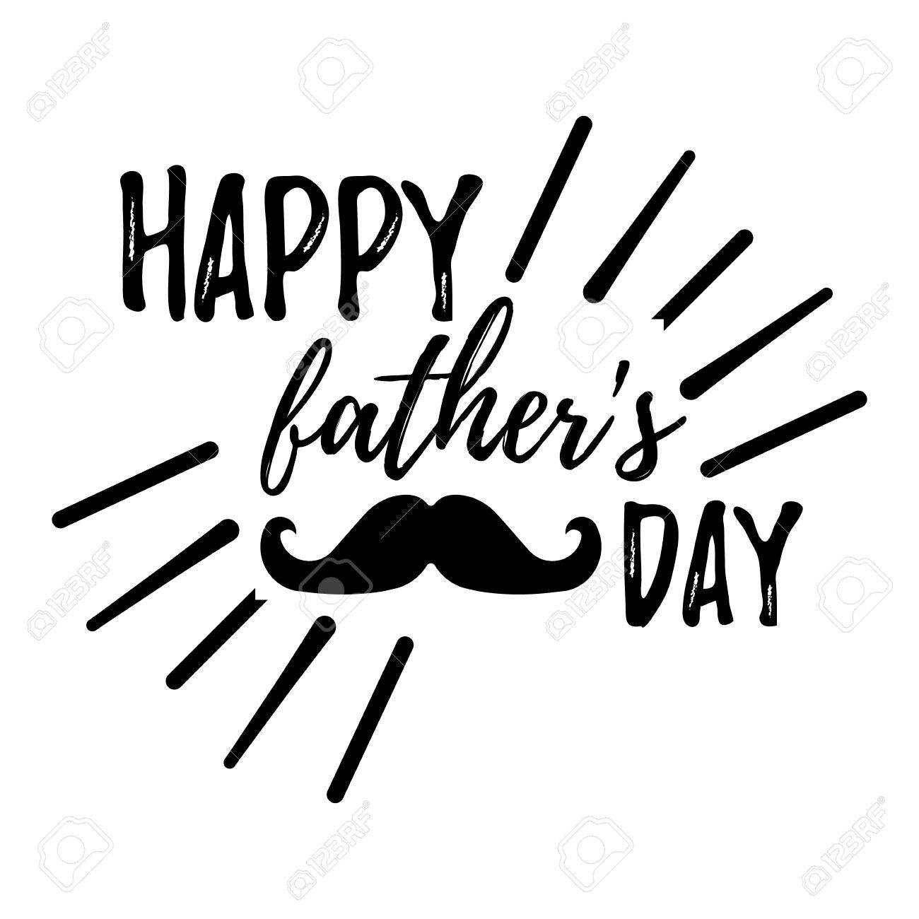 hight resolution of happy father s day banner and giftcard best dad poster sign on background vector illustration