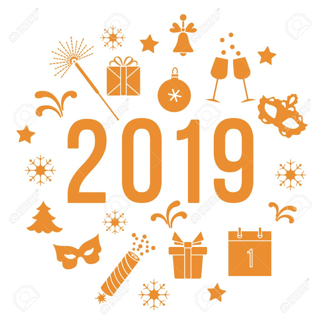 new year symbols gifts