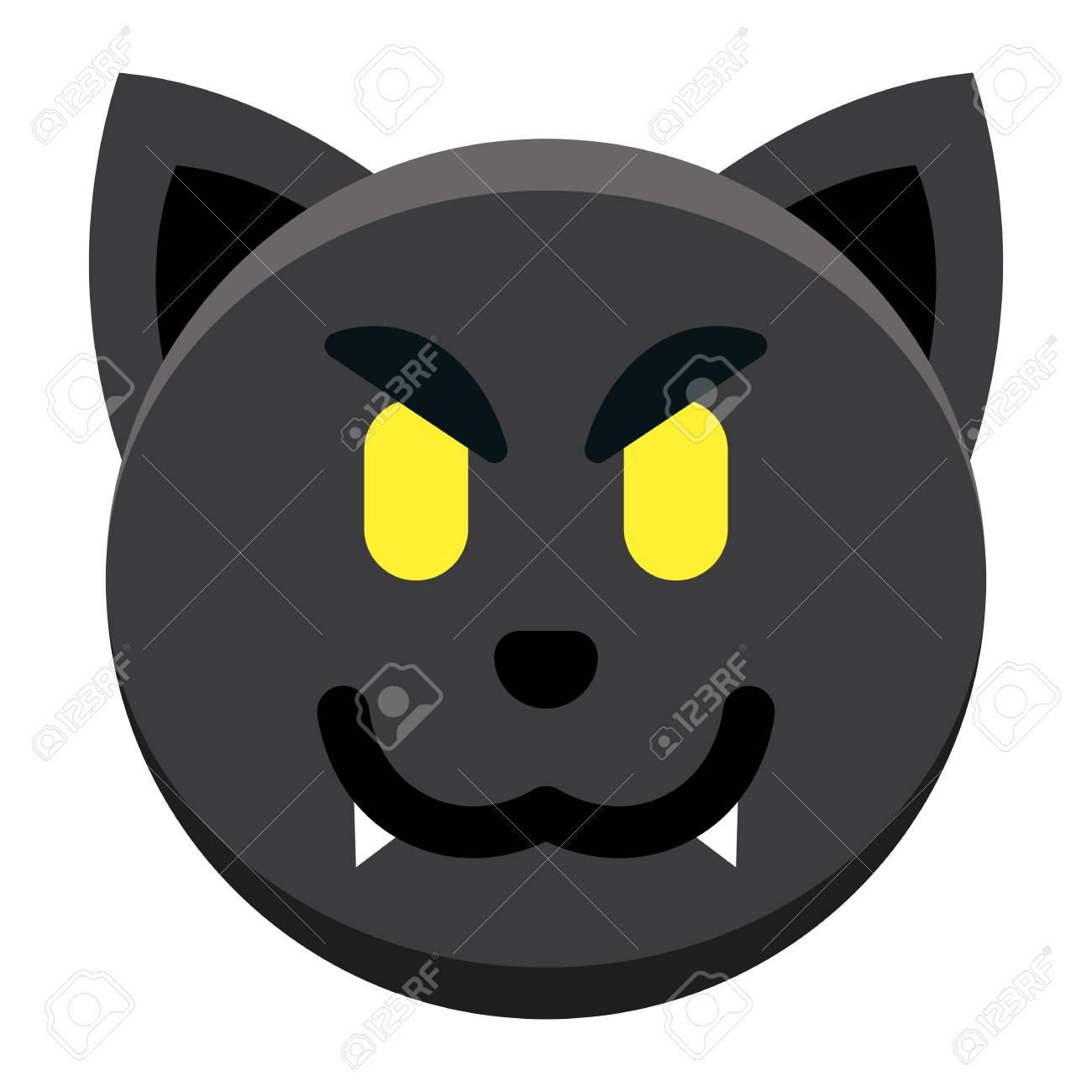 Funny Emoji Black Background