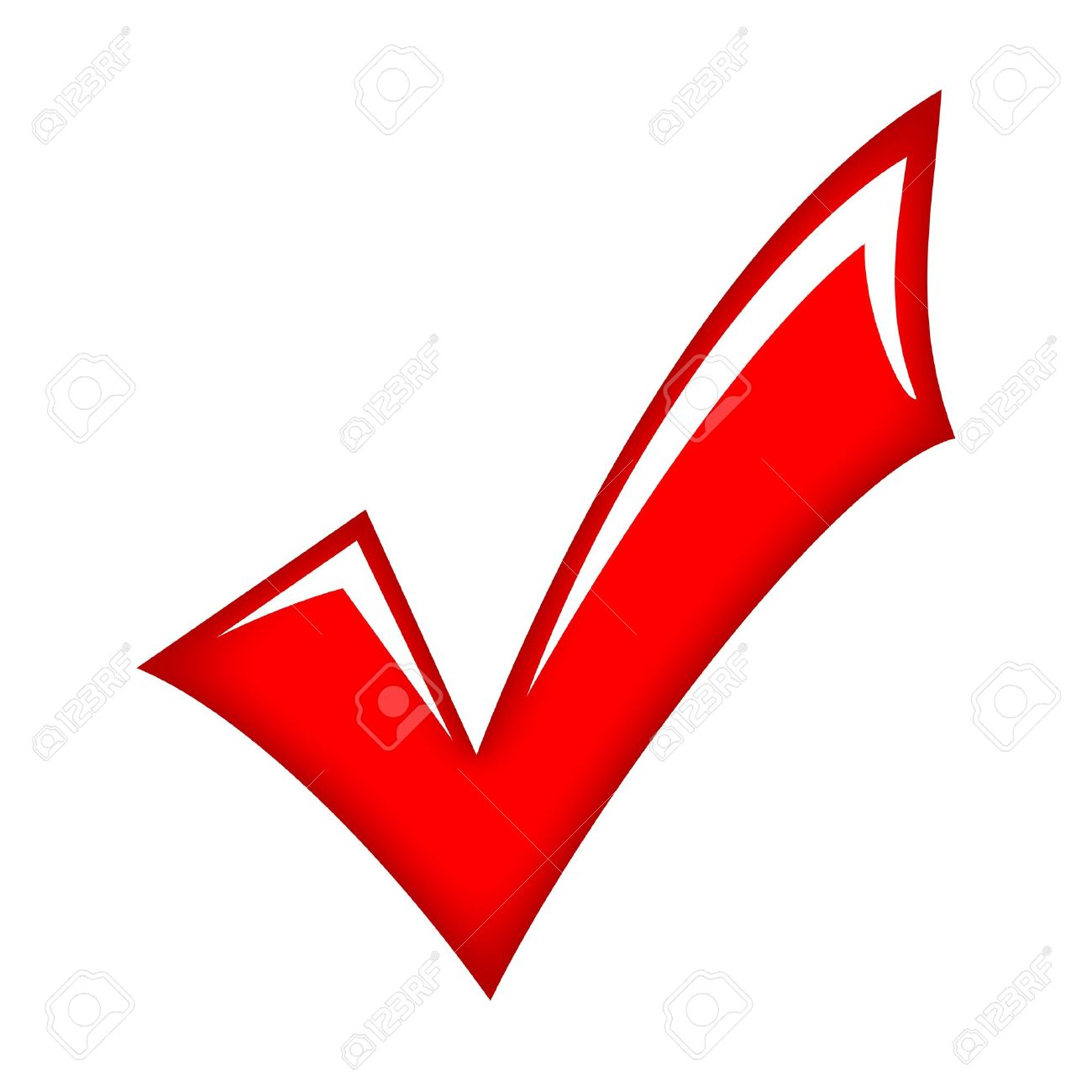 hight resolution of vector vector red check mark