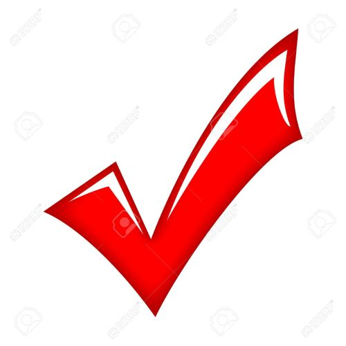 small resolution of vector vector red check mark