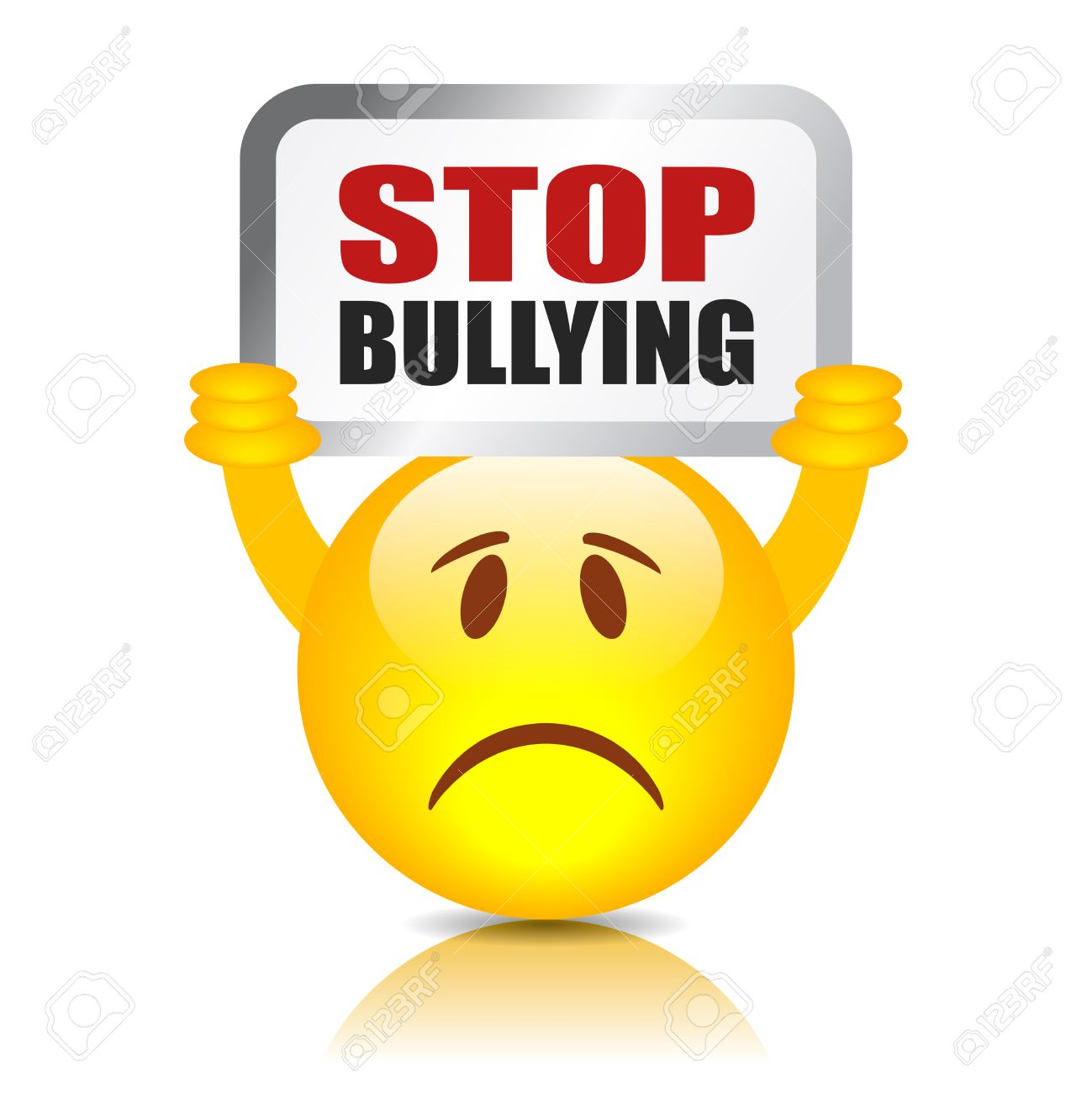 hight resolution of stop bullying sign