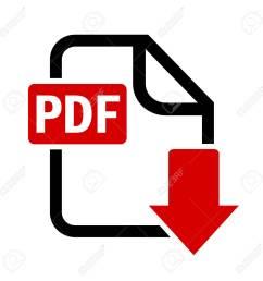 download pdf file button stock vector 53257574 [ 1300 x 1300 Pixel ]