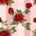 Red Rose Flower Bouquet Spreads Scarlet Creeper Elements Vector Royalty Free Cliparts Vectors And Stock Illustration Image 127708112