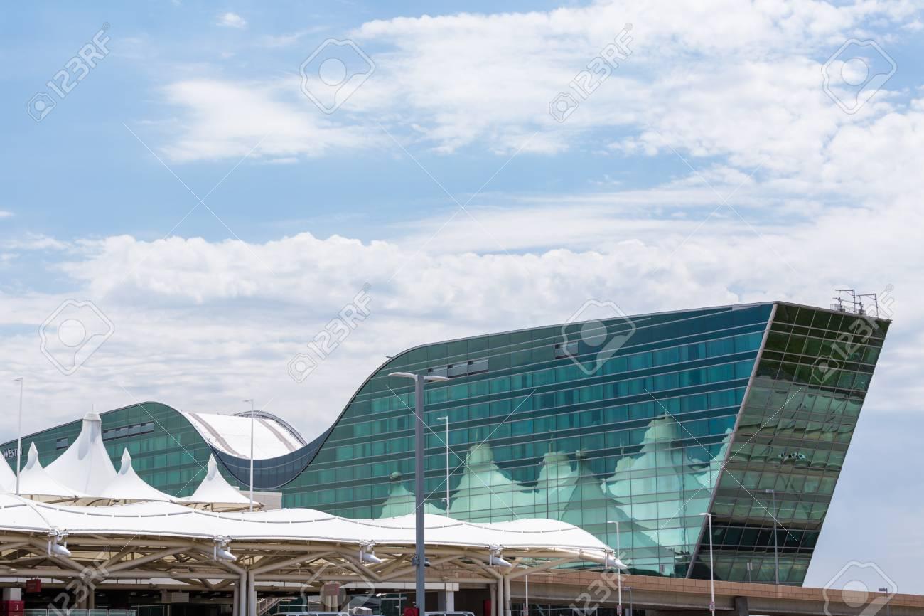 Denver Colorado Usa June 22 2016 Denver International Airport